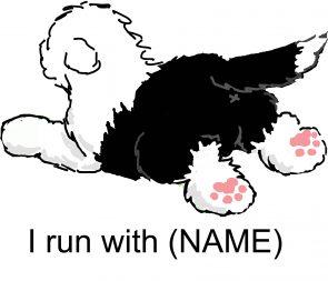 I run with